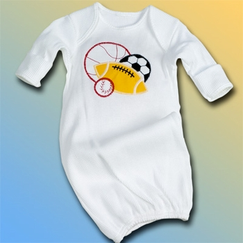 Baby Night Gown For Boys
