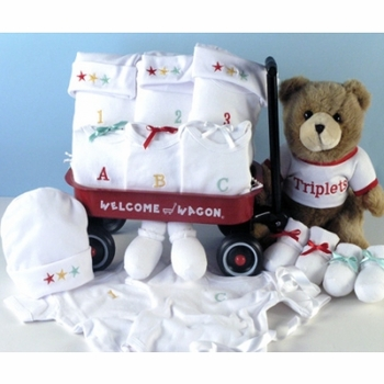 Baby Outfits For The New Triplets Wagon