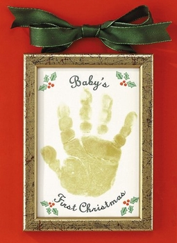 Baby's First Christmas Handprint Ornament Kit
