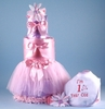 Ballerina To Be First Birthday Diaper Cake