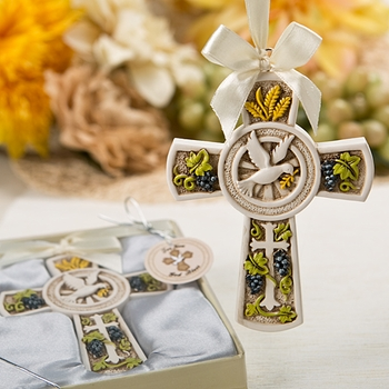 Blessed Cross Ornament Favor