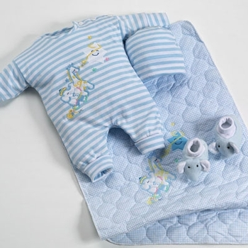 Blue Baby Outfit Set For Boys