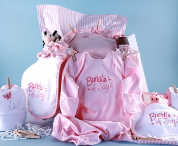 Bundle of Joy Baby Girl Layette Set