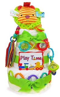 Busy Baby Diaper Cake