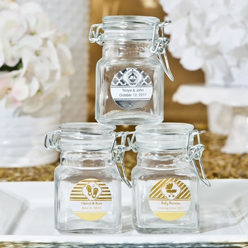 Custom Metallic Label Goody Jars