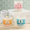 Customized Frosted Glass Candles