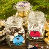 Customized Locking Glass Jars