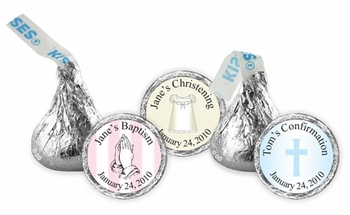 Cutomized Christening Or Baptism Kisses (20 Designs Available)