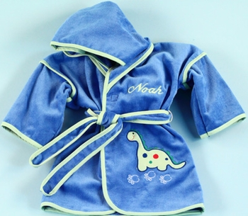 Dinosaur Hooded Robe Coverup (Can be personalized)
