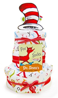 Dr. Seuss Theme Diaper Cake