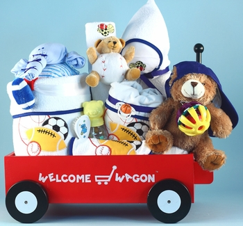Extra Large Sports Gifts Wagon