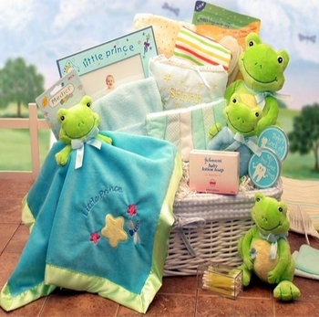 Froggy Basket Baby Collection