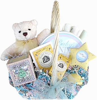 Grow A Tree For Baby Basket