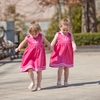 Hot Pink Cotton Baby Dresses (Can be personalized)