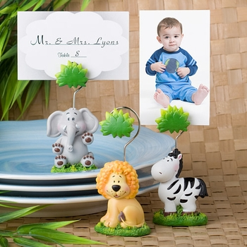 Jungle Animal Place Card Holders