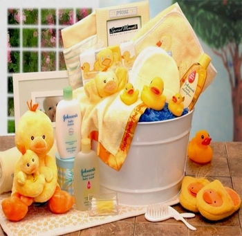 Just Ducky Bath Time Bucket