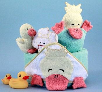 Little Ducks For Bath Time