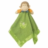 Little Monkey Green Baby Blankie