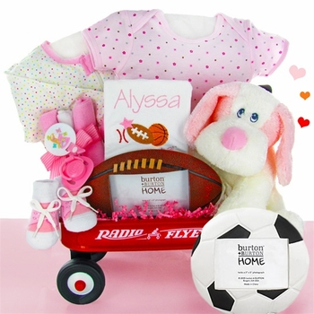 Little Sports Wagon for Baby Girls