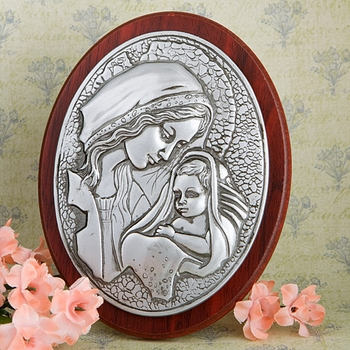 Madonna with Child Wall Plaque