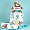 My First Holidays Personalized Diaper Cake