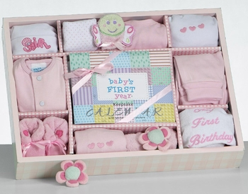 New Baby Girl Necessities First Year Gift Set (Out Of Stock)