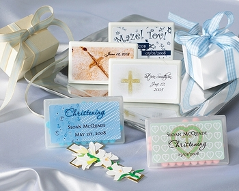 Personalized Baby Christening Mint Boxes (35 Designs)