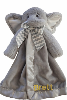 Personalized Baby Elephant Blanket - TEMPORARILY OUT OF STOCK