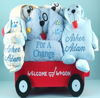 Personalized Big Puppy Wagon Set (out of stock)