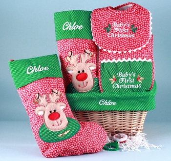 Personalized Christmas Stocking And More