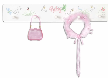 Personalized Coat Rack  (Out of Stock)