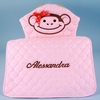 Personalized Deluxe Baby Girl Changing Pad