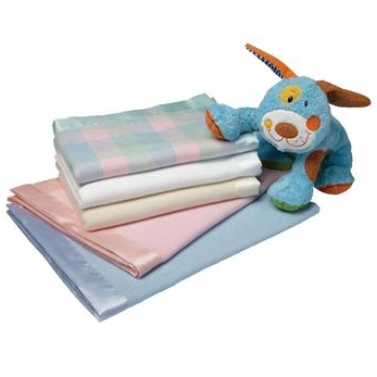 Personalized Extra Large Cotton Baby Blankets