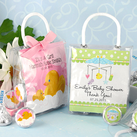 Personalized Gift Bags With Matching Kisses (28 Designs Available)
