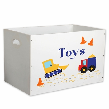 Personalized Imprinted Baby Toy Box (Over 70 Designs)