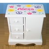 Personalized Imprinted Girl's Musical Jewelry Box