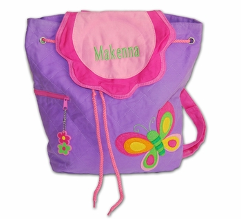 Personalized Little Girl's Backpack