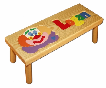 Personalized Name Seat With Clown
