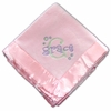 Personalized Pink Baby Girl Blanket