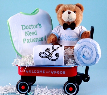 Personalized Welcome For A Doctors Baby Boy Or Girl