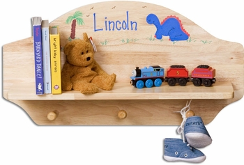 Personalized Wooden Baby Shelf (3 Finishes Available)