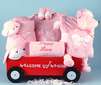 Pink Puppies Wagon For Girls (out of stock)