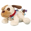 Plush Puppy Dog With Taggies