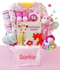 Safari Girl Basket (Can be personalized)