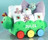 Springtime Girl Baby Wagon (Can be personalized)