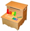Step Up Name Puzzle Toy Box