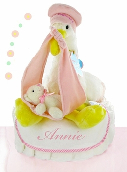 Stork Delivery For A Girl