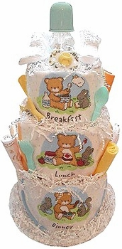 The Feeding Time Diaper Cake