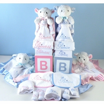 The Royal Bestowal for Twins (Pink Or Blue)