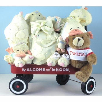 Ultimate Twins Wagon (Neutral Colors)